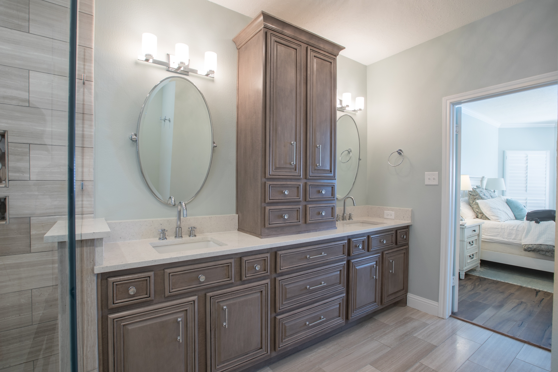 bathroom remodel - cabinets