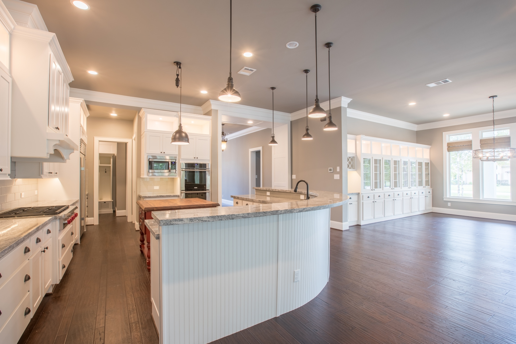 open kitchen concept