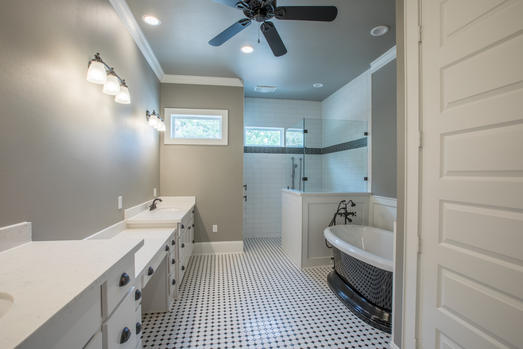 master bathroom stand-alone bathtub
