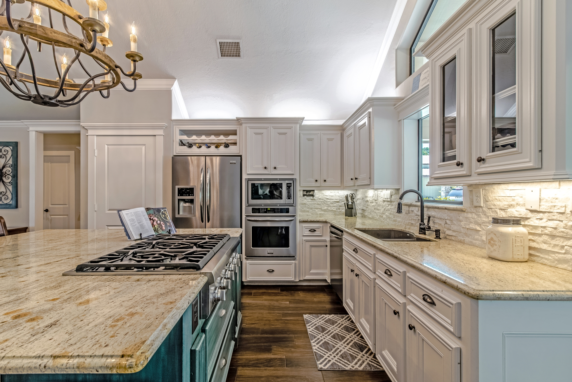 custom kitchen build