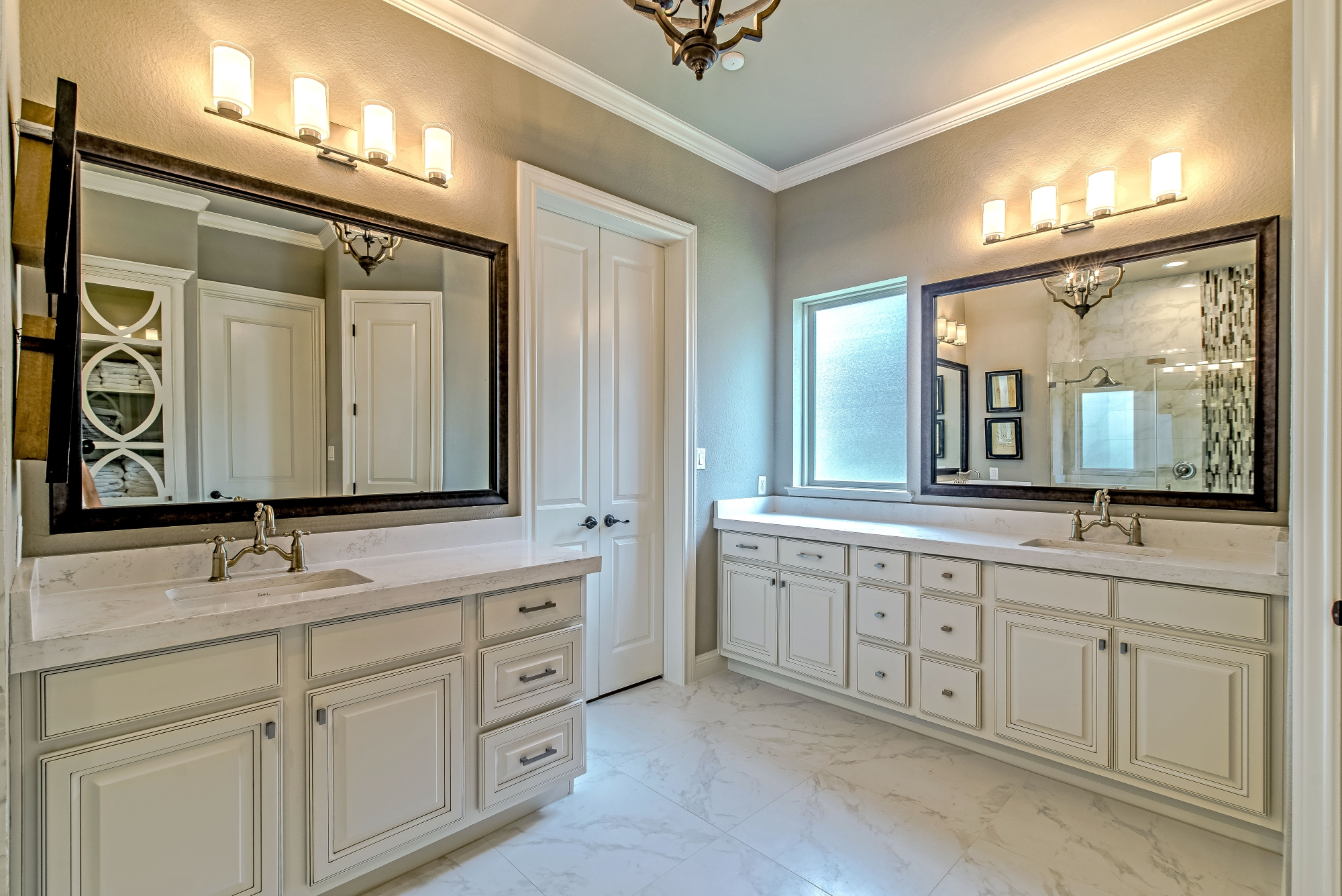 custom master bathroom renovation
