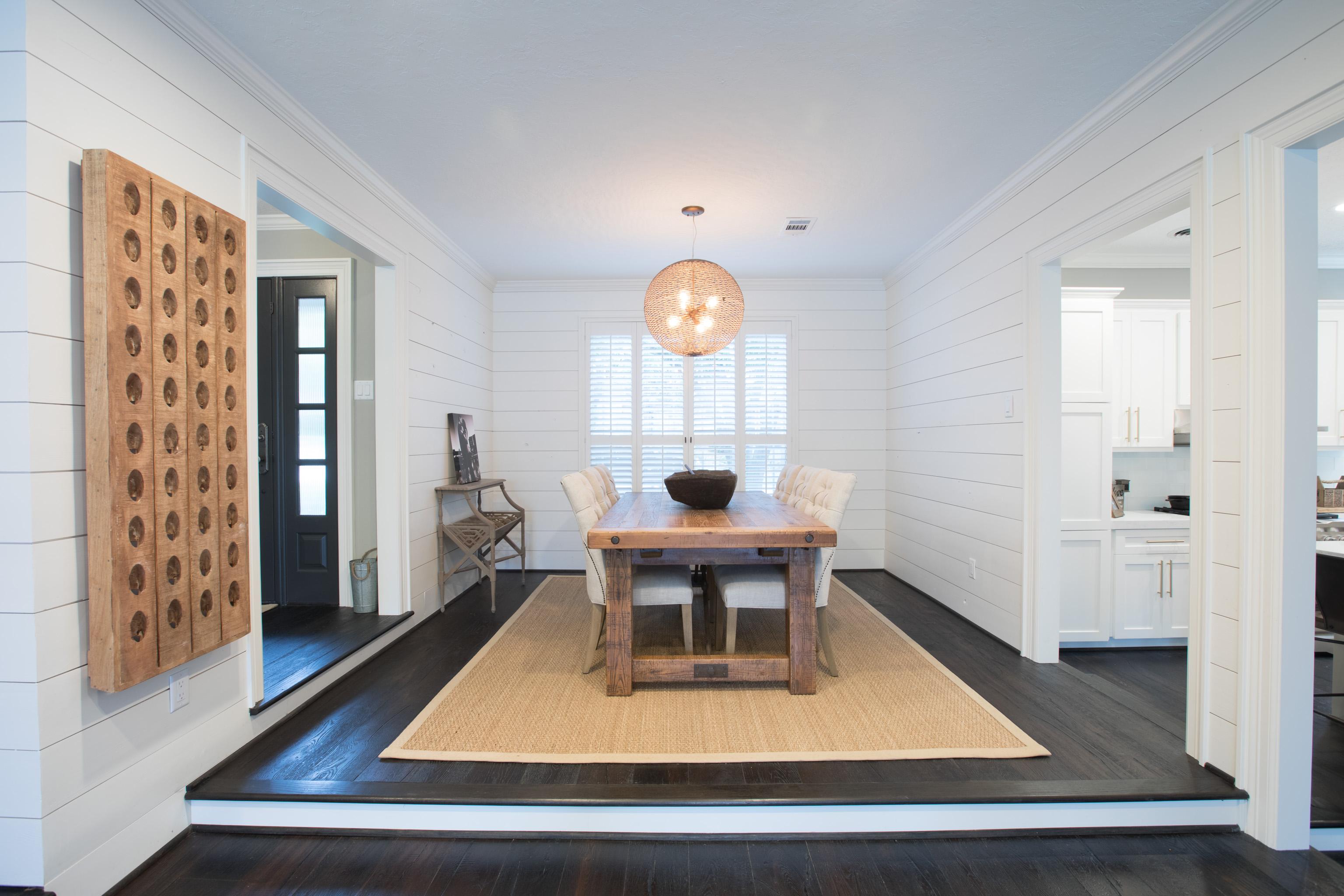 custom renovation dining room